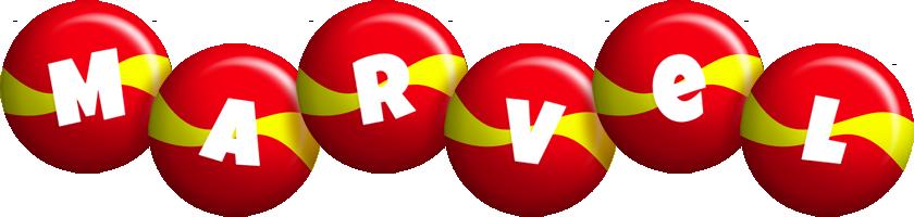 Marvel spain logo