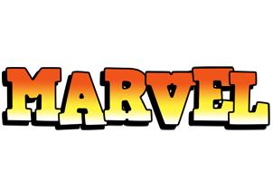 Marvel sunset logo