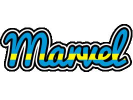 Marvel sweden logo