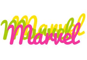 Marvel sweets logo
