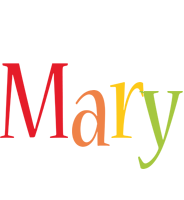 Mary birthday logo