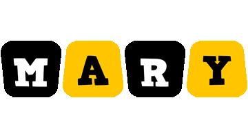 Mary boots logo