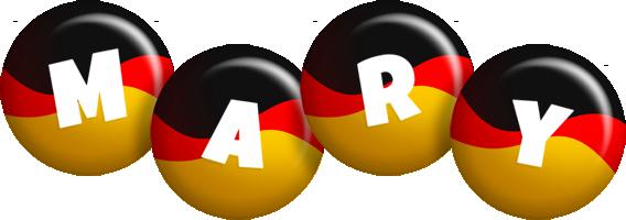 Mary german logo