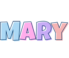 Mary pastel logo