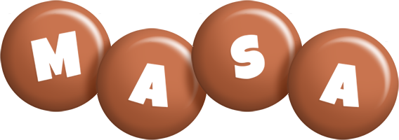 Masa candy-brown logo