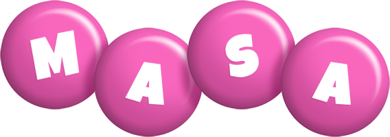 Masa candy-pink logo
