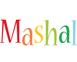 Mashal birthday logo
