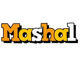 Mashal cartoon logo