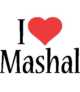 Mashal i-love logo