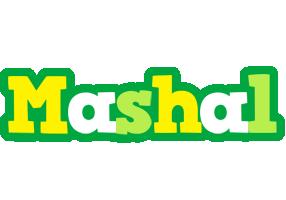 Mashal soccer logo
