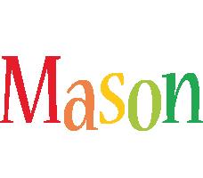 Mason birthday logo