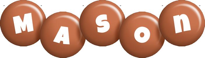 Mason candy-brown logo