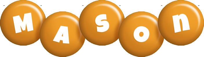 Mason candy-orange logo
