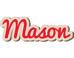Mason chocolate logo