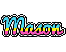 Mason circus logo