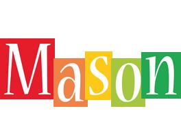 Mason colors logo