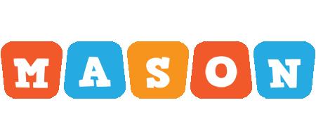 Mason comics logo