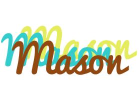 Mason cupcake logo