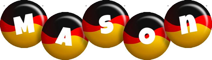 Mason german logo