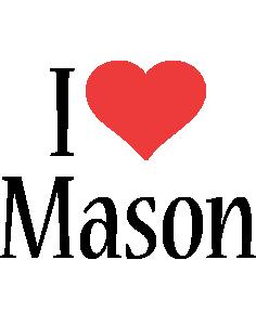 Mason i-love logo