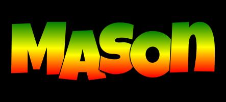 Mason mango logo