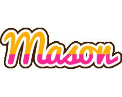 Mason smoothie logo