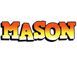 Mason sunset logo