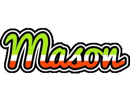 Mason superfun logo