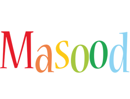 Masood birthday logo