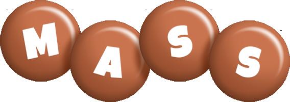 Mass candy-brown logo