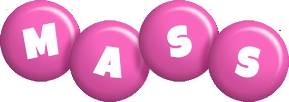 Mass candy-pink logo