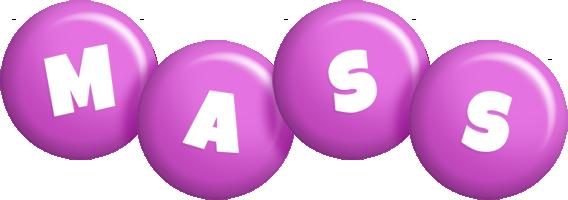 Mass candy-purple logo
