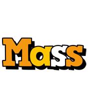 Mass cartoon logo