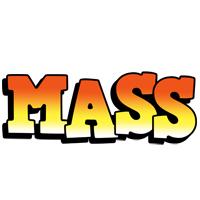 Mass sunset logo