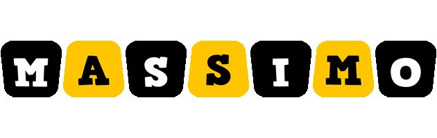 Massimo boots logo