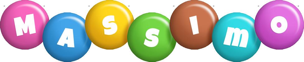 Massimo candy logo