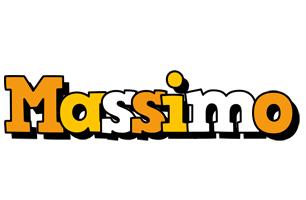 Massimo cartoon logo