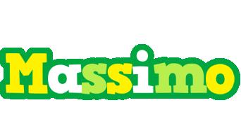 Massimo soccer logo