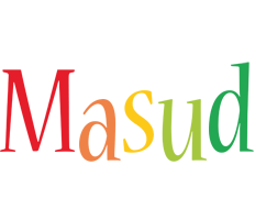 Masud birthday logo