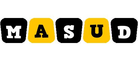 Masud boots logo