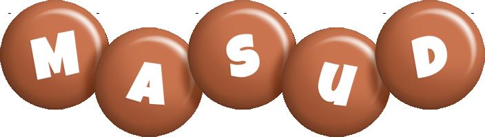 Masud candy-brown logo