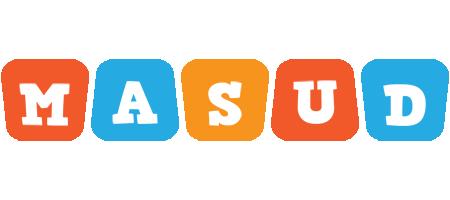 Masud comics logo