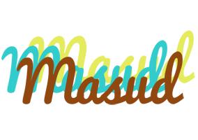 Masud cupcake logo