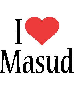 Masud i-love logo
