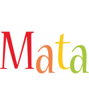 Mata birthday logo