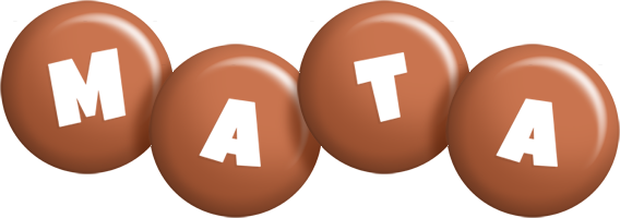 Mata candy-brown logo