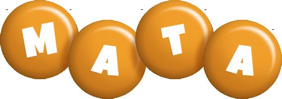 Mata candy-orange logo