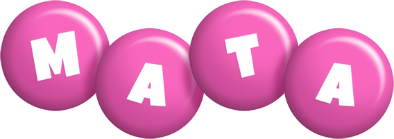 Mata candy-pink logo