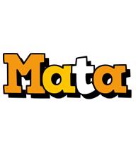 Mata cartoon logo