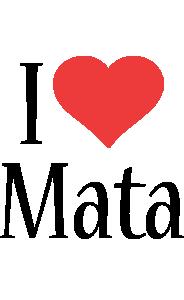 Mata i-love logo
